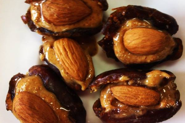 Date & Almond Cups
