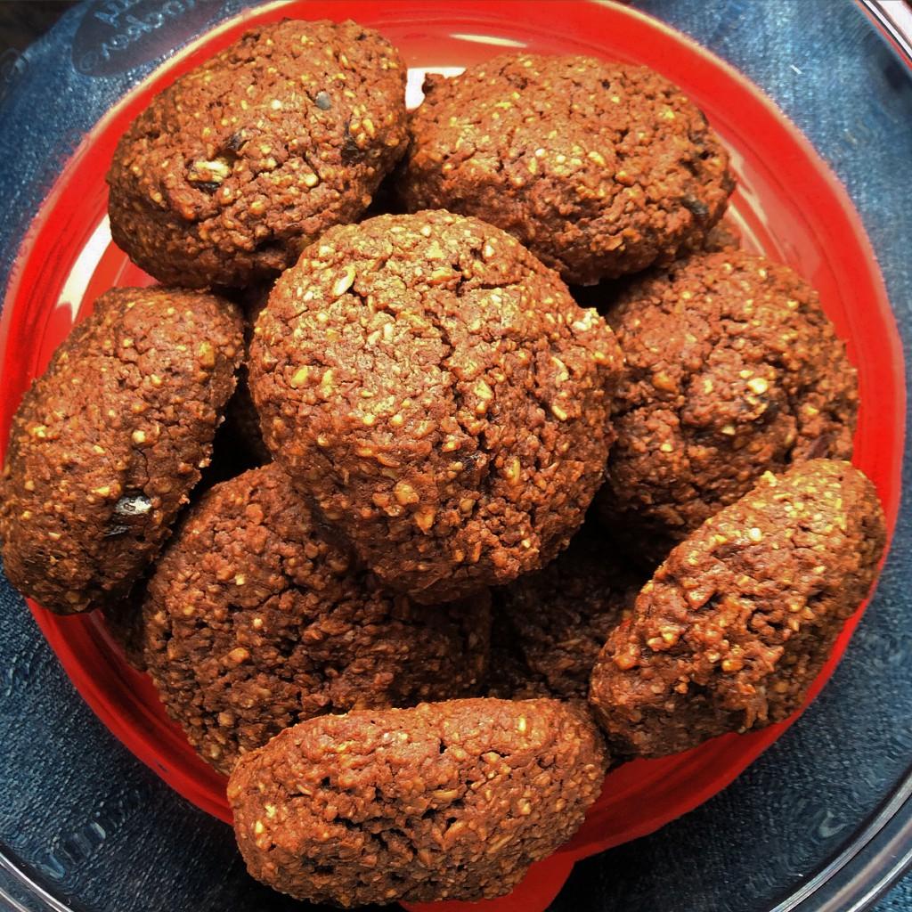 Choc Peanut Butter Cookies