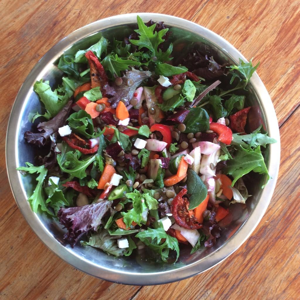 Lentil & beet salad final