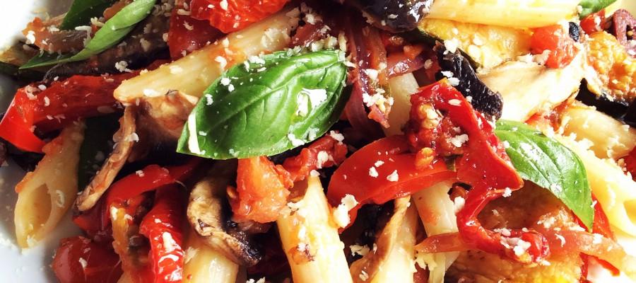 Mediterranean Style Pasta