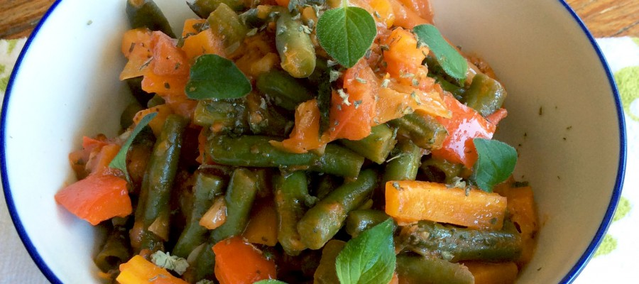Green Beans with Tomato & Vegetables