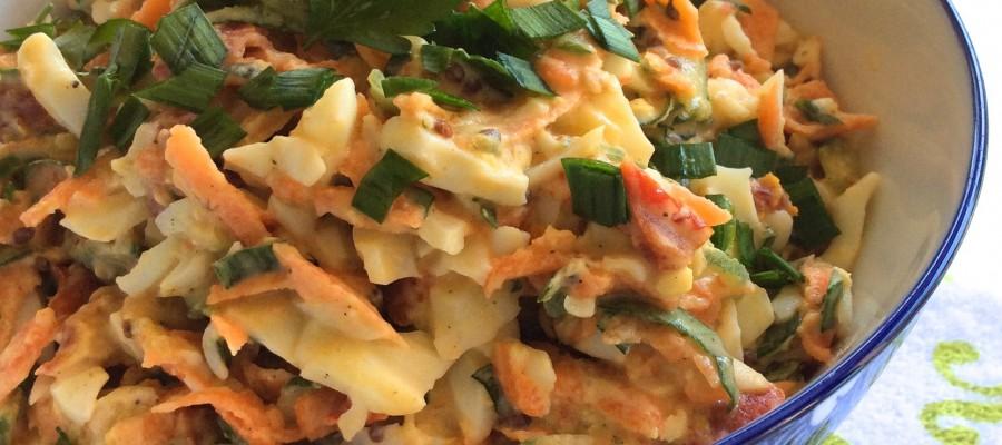 Egg Salad with Mayo & Wholegrain Mustard