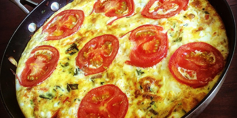 Vegetable & Feta Frittata